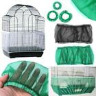 3 Sizes Bird Cage Seed Catcher Seeds Guard Parrot Mesh Net Cover Cage Basket