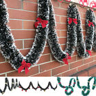 Внешний вид - 2M Chunky Xmas Garland Home Party Wall Door Decor Christmas Tree Ornaments Grand