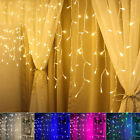 LED Icicle String Lights 5M 216LEDs Christmas Xmas Fairy Lights Outdoor Home