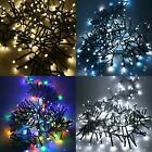 480 LED 6.2m Cluster Fairy Lights Indoor Outdoor Christmas Tree House Decoration