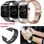For Apple Watch Series 3/2/1 Stainless Steel Wrist iWatch Band Strap 38/42mm US image