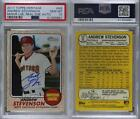 2017 Topps Heritage Minor League Edition #ROA-AS Andrew Stevenson Auto Card <br/> Fulfilled by COMC - World&rsquo;s largest consignment service