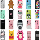 3d Cartoon Animal Unicorn Soft Rubber Silicone Case For Iphone 5/6/7/8 Touch 5/6