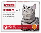 Beaphar FIPROTEC Flea Spot On Treatment For Cats 1,3,6 Pipettes
