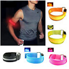 Внешний вид - Running Armband Night Jogging Flashing Safety LED Light Reflective Belt Strap