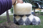 Kyпить Authentic Sheepskin / Sheep wool Slippers For WOMEN. Made in Europe. на еВаy.соm