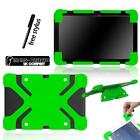 Shockproof Silicone Stand Cover Case For Various ARCHOS 97 101 Tablet + Stylus