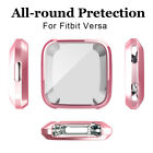 Silicone Shockproof Bumper Protective TPU Soft Armor Case Cover For Fitbit Versa
