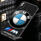 New BMW3 Logo Sport Car Cover iPhone XS Max XR X 6 7 8 Plus Samsung Nike4LV Case