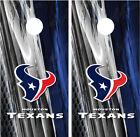 Houston Texans Ripped Metal Cornhole Board Decal Wrap Wraps on eBay