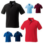 JERZEES SCHOOLGEAR KIDS GIRLS BOYS HARDWEARING POLY/COTTON PIQUE POLO SHIRT 599B