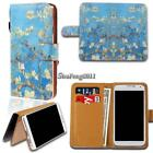 Leather Wallet Card Stand Flip Case Cover For Various Google SmartPhones