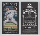 2011 Topps Gypsy Queen Mini Black Border #83 David Price Tampa Bay Rays Card