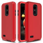 For LG Phoenix 4 Phone Case Shockproof Rugged Hard Armor Full Protective Cover
