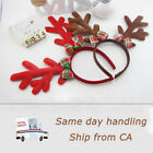 2 × Christmas Headband Reindeer hairband Deer Antlers Horn for Kids and Adults