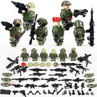 Classic Modern Military Lego Soldiers Army Figures Weapons Building Block New