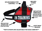 Doggie Stylz IN TRAINING Service Dog Harness Vest Nylon for Small Medium Large