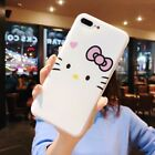 New Cartoon hello kitty  case For iphone6s  6plus 7 7 plus 8 8plus  iphonex