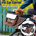 Portable Pet Dog Bike Basket Seat Cage Cat Travel Bicycle Carrier Crate Kennel