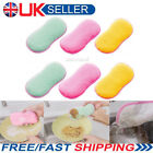 6/3x Double Sided Cleaning Scouring Pads Sponges Scourer Antibacterial Scrubbing