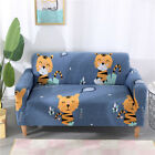 Spandex Stretch Sofa Covers Couch Protector for 1 2 3 4 seater LRau Tiger #qph