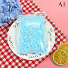 Warm color snow mud particles accessories tiny foam beads slime.balls supplies