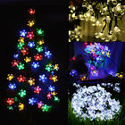 30/50 LED Solar String Lights Flower Bulbs Solar Powered Garden Decorative Light