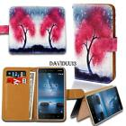 Leather Smart Stand Wallet Case Cover For Various Nokia Lumia SmartPhones