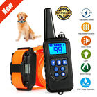 875 Yard Pet Trainer Waterproof Dog Training Collar Outdoor Rechargeable System