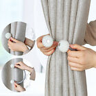 4 PACK Magnetic Curtain Tiebacks Most Convenient Drapery Holdbacks Luxury Decor