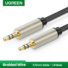 UGREEN 3.5mm Male to Male Auxiliary Aux Stereo HiFi Cable Braided for Speaker