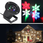 Multi-color Move Snowflake LED Landscape Party Laser Light Projector For Xmas F1