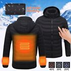 USB Heater Hunting Vest Heated Jacket Heating Coat Winter Clothes Men Thermal