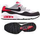 New NIKE Air Max 94 Mens sneakers shoes white grey crimson all sizes