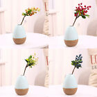 10pcs Decorative Blueberry Fruit Berry Artificial Flower Silk Flowers Frui Z8K1)