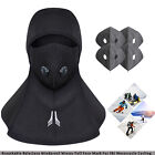 Breathable Balaclava Windproof Winter Full Face Mask For Ski Motorcycle+Filters