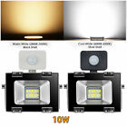 LED Floodlight PIR Sensor Motion 10/30/50/100/200/300W Security Light Warm Cool