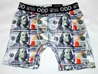 Stand Out BE ODD $100 Bill Money Vibrant Color Super Soft Boxer Briefs Men's NWT