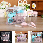Внешний вид - 7Pcs/set Mini Travel Plastic Transparent Empty Make Up Container Bottle Kit
