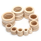 1bag Natural Wood Circles Beads Wooden Ring Diy Jewelry Making Crafts Diy Cl