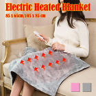 'Electric Heated Throw Over Under Blanket 3heating Control Washable Warm Mattress