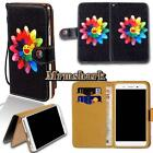 Flip Leather Wallet Card Stand Cover Case For Various BlackBerry SmartPhones