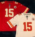 Kansas City Chiefs #15 Patrick Mahomes Mens Stitched Jersey Red / White NWT