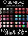 SEMILAC ALL COLOURS  - Innovative Hybrid Nail Polish 7ml + FREE GIFT GLITTER