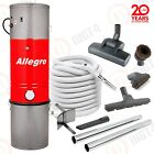 SUPER! Allegro Central Vacuum System 3000 sq ft Home Hardwood Deluxe Air Package