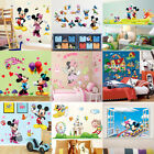 DIY Mickey Minnie Mouse Wall Sticker PVC Decal Kids Boys Girls Room Decor Mural