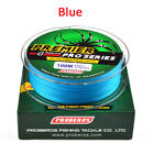 4 Stands 100M Strong PE Braided Sea Fishing Lines Multifilament Angling Portable