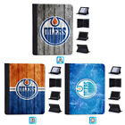 Edmonton Oilers Leather Case For Apple iPad 1 2 3 4 Mini Air Pro 9.7 10.5 12.9 $19.99 USD on eBay