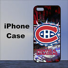 Montreal Canadiens Ice Hockey Team Case Cover iPhone 5s 5c 6 6+ 7+ SE 8 8+ X XR $17.89 USD on eBay