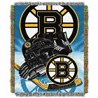 """Bruins OFFICIAL National Hockey League, """"Home Ice Advantage"""" 48""""x 60"""" Woven Tape $37.99 USD on eBay"""